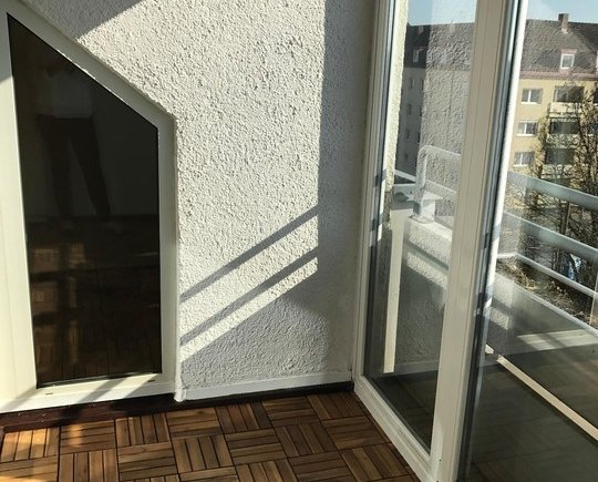 verglaste Loggia Wohnung